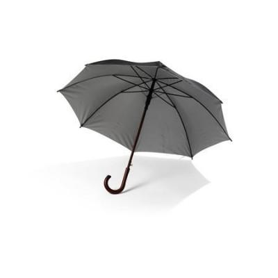Avtomatski dežnik s sivo UV notranjostjo 90cm, črna-siva 4011-50