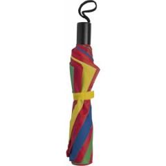 Zložljiv dežnik z etuijem v barvi 90cm, multicolor 4092-09