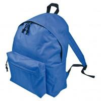 Promocijski nahrbtnik 40 x 30cm z dodatnim velikim žepom Cadiz, modra 417004