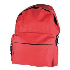 Nahrbtnik 40 x 30cm z dodatnim velikim žepom Cadiz, rdeča 417005