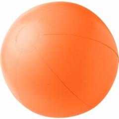 Napihljiva plažna žoga - enobarvna, oranžna 4188-07