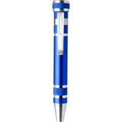 Kovinski izvijač z 8 nastavki, modra 4853-23