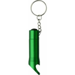 Kovinski odpirač za steklenice s svetilko na obesku, zelena 4867-29