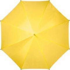 Avtomatski dežnik z ogrodjem v barvi dežnika in pena ročajem 95cm, rumena 4937-06