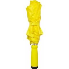 Zložljiv dežnik z ALU okvirjem 99cm z etuijem v barvi, rumena 4938-06