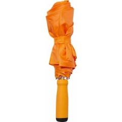 Zložljiv dežnik z ALU okvirjem 99cm z etuijem v barvi, oranžna 4938-07