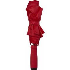 Zložljiv dežnik z ALU okvirjem 99cm z etuijem v barvi, rdeča 4938-08