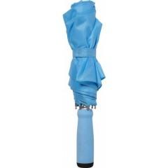 Zložljiv dežnik z ALU okvirjem 99cm z etuijem v barvi, modra 4938-18