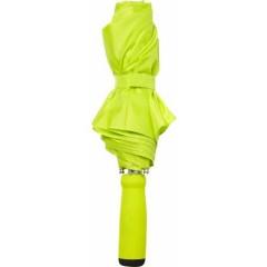 Zložljiv dežnik z ALU okvirjem 99cm z etuijem v barvi, zelena 4938-19