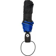 Polno-avtomatski zložljiv dežnik s samodejnim odpiranjem in zapiranjem, modra 4939-05