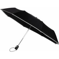 Polno-avtomatski zložljiv dežnik s samodejnim odpiranjem in zapiranjem, siva 4939-27