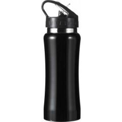 Kovinska športna steklenica - bidon za kolo 600ml, črna 5233-01
