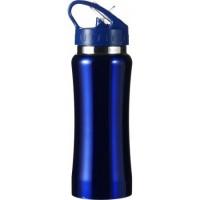 Kovinska športna steklenica - bidon za kolo 600ml, modra 5233-05