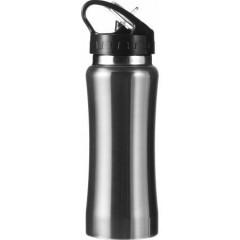 Kovinska športna steklenica - bidon za kolo 600ml, siva 5233-32