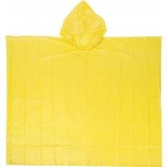 Dežni pončo PEVA v vrečki (pribl. 100x120cm), rumena 5313-06
