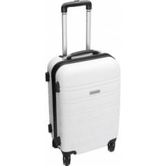 Poslovni potovalni kovček s štirimi kolesci, bela 5393-02
