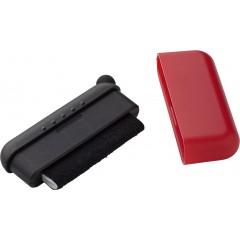 Čistilec za ekran s touch gumo za zaslone, rdeča-črna 5399-08