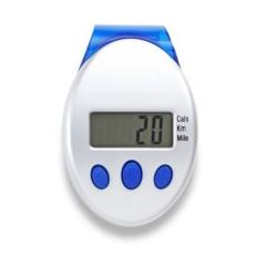 Pedometer - števec korakov s prikazom razdalje in porabo kalorij, modra-siva 5521-52