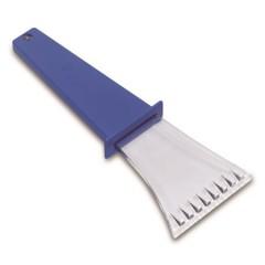 Strgalo za avto - prozorno z barvnim ročajem, modra-transparentna 5815-05