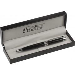 Kovinski kemični svinčnik Charles Dickens v darilni škatli, črna 5986-01