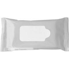 Promocijski reklamni vlažilni robčki, siva-bela 6080-32
