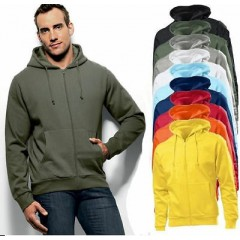 Pulover s kapuco - Beefy Hooded Jacket Hanes 6190