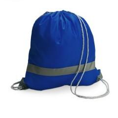 Nahrbtnik - torba za športno opremo z odsevnim trakom, modra 6238-23