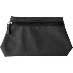 Potovalna toaletna - kozmetična torba z zadrgo, črna 6392-01
