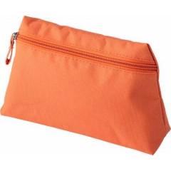 Potovalna toaletna - kozmetična torbica z zadrgo, oranžna 6392-07