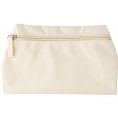 Potovalna toaletna - kozmetična torba z zadrgo, bela 6392-13