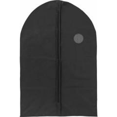 Potovalna torba - vrečka za obleko z zadrgo in okencem, črna 6449-01