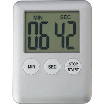 Digitalni kuhinjski timer - ura z magnetom, siva 6516-32
