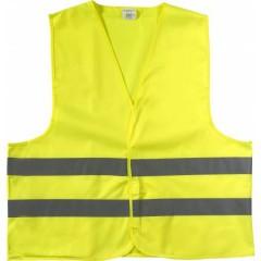 Odsevni - visokovidni varnostni brezrokavnik - telovnik, rumena 6541-06M