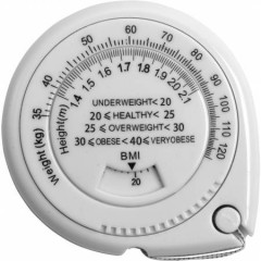 Indikator telesne teže - BMI trak (ITM) 150cm, bela 6548-02