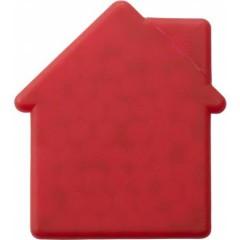 Mint bonbončki brez sladkorja v škatlici v obiliki hiše House, rdeča 6671-08