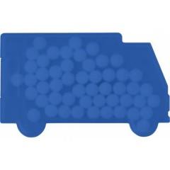 Mint bonboni brez sladkorja v škatlici v obliki tovornjaka ali kombija Van, modra 6679-23