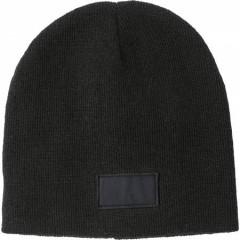 Zimska kapa s površino za tisk, črna 6735-01