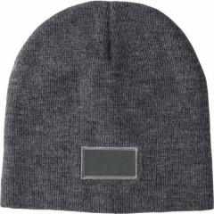 Zimska kapa s površino za tisk, siva 6735-03