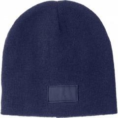 Zimska kapa s površino za tisk, modra 6735-05