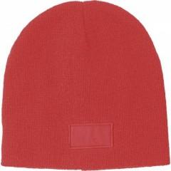 Zimska kapa s površino za tisk, rdeča 6735-08