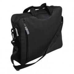 Koferenčna torba za dokumente Málaga, črna 700703