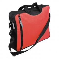 Koferenčna torba za dokumente Málaga, rdeča 700705