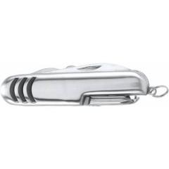 Kovinski žepni nož - pipec - 7-funkcijski, srebrna 7112-32