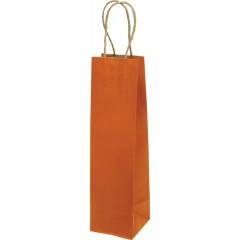 Darilna vrečka natron EKO steklenica 71331, oranžna