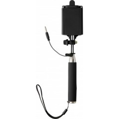 Selfie palica s sprožilcem teleskopska do 61cm, črna 7245-01