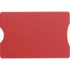 Etui za bančno kartico RFID zaščita, rdeča 7252-08