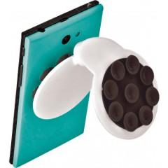 Nosilec za mobilni telefon s priseski, črna-bela 7281-01