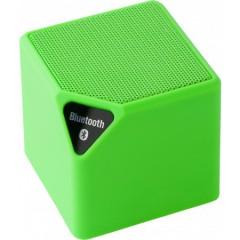 Bluetooth zvočnik 10m - 3W s spreminjajočo lučko, zelena 7297-19