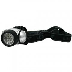 Naglavna svetilka 19 led 73542A, črna