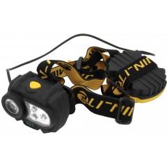 Naglavna svetilka SAFE 3 led in 1 Watt 73547, črna